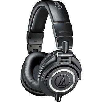 AUDIO-TECHNICA ATH-M50x, Audífonos para Monitoreo, 99 dB, 38 Ohms, 1.600 mW