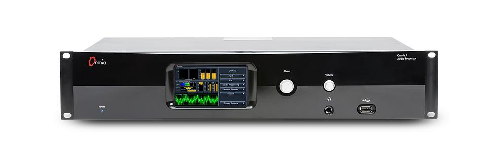 OMNIA 7 FM/HD, Procesador Audio, RTA, 5 Bandas, MPX, Touch Screen, 24 bit, 2UR