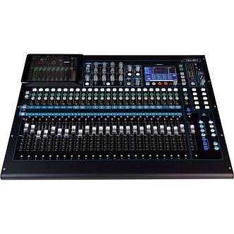 ALLEN&HEATH QU-32, Consola Mezcladora Digital, 32CH, 33 Faders, Táctil, AES, USB