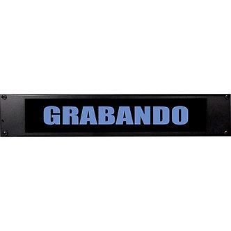 AMERICAN RECORDER GRABANDO, Letrero Luminoso, Modos ON/Flash, 2UR