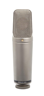 RODE NT1000, Micrófono Condensador Cardioide, 20 Hz-20 kHz, 100 Ohms, XLR