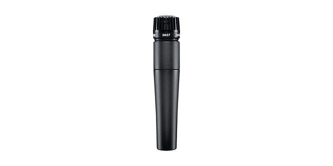 SHURE SM57-LC, Micrófono Dinámico Cardioide, 150Ohms, 40-15.000 Hz, XLR