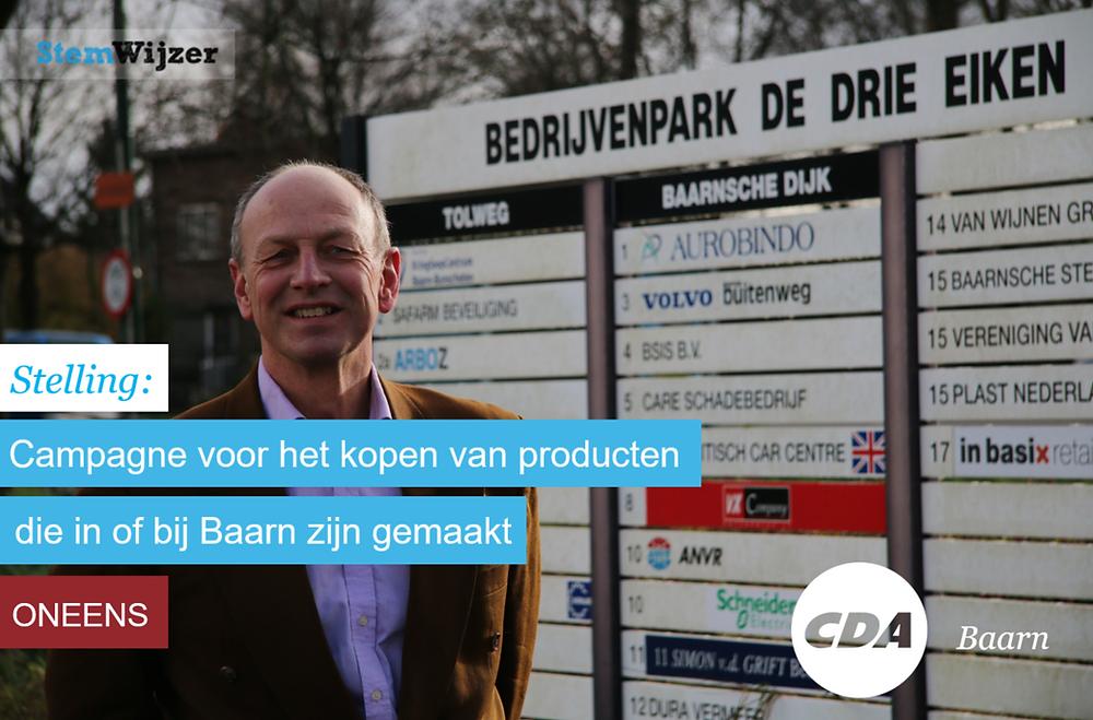 Stemwijzer Baarn over lokale producten