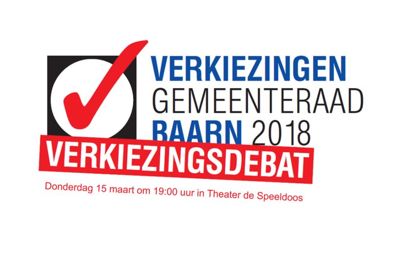 Verkiezingsdebat gemeenteraadsverkiezingen Baarn