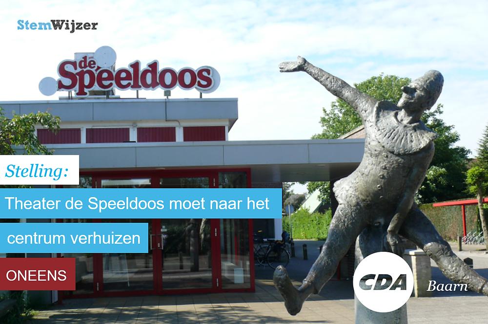 Stemwijzer Baarn over Theater de Speeldoos in Baarn