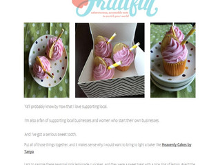 Pink Lemonade Cupcakes X Think Fruitful