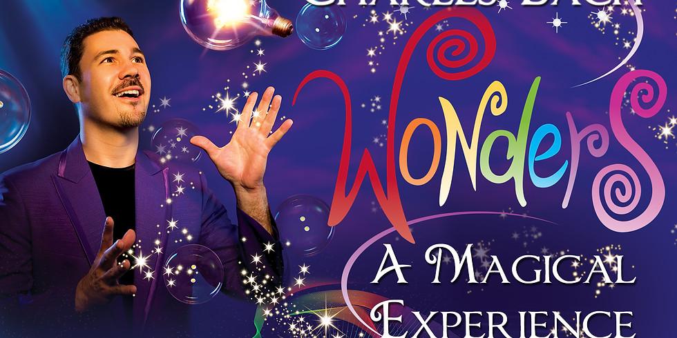 Charles Bach Wonders Magic Show June 26, 2019
