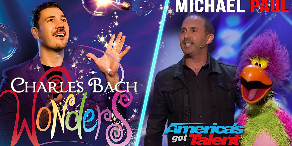 SPECIAL SPLIT SHOW! Charles Bach Wonders & Michael Paul from AGT August 28, 2019
