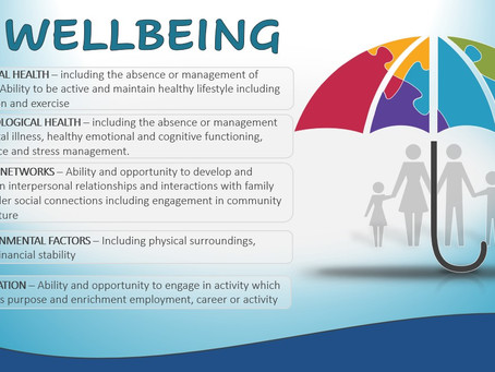 Wellbeing - Much More Than Just Mental Health