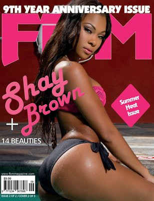 FBM 9th yr Anniversary Issue Shay Brown Cover