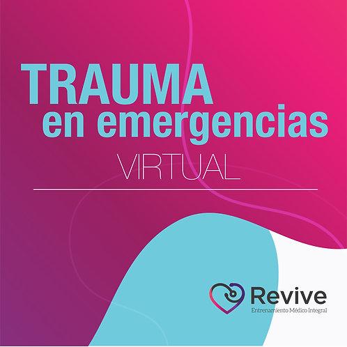 Trauma en Emergencia - VIRTUAL