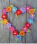 Heart Wreath Perfect For Valentines Day