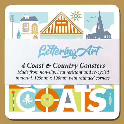Coaster x4 / Cullercoats