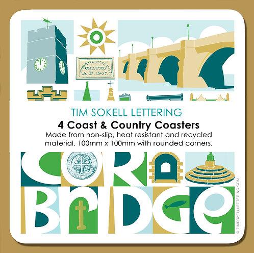 Coasters x4 Corbridge