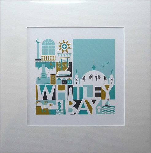 Print / Mounted / Whitley Bay