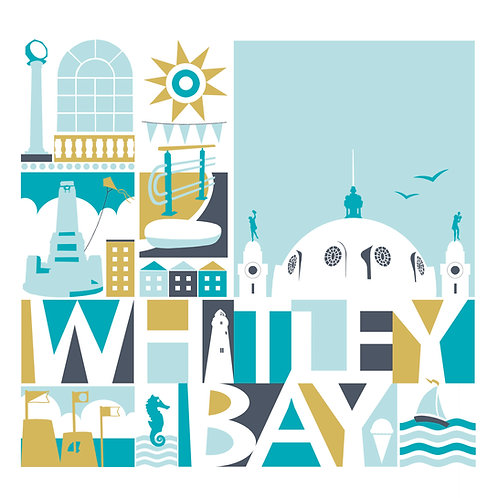 Card / North East Coast & Country / Whitley Bay