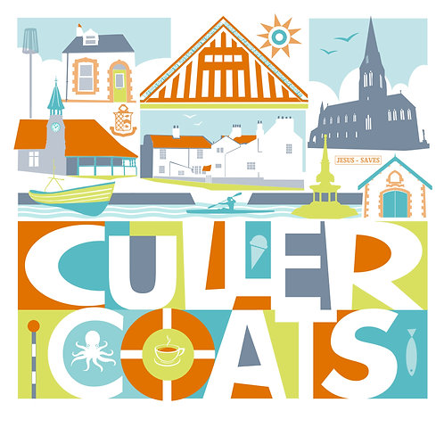Card / North East Coast & Country / Cullercoats