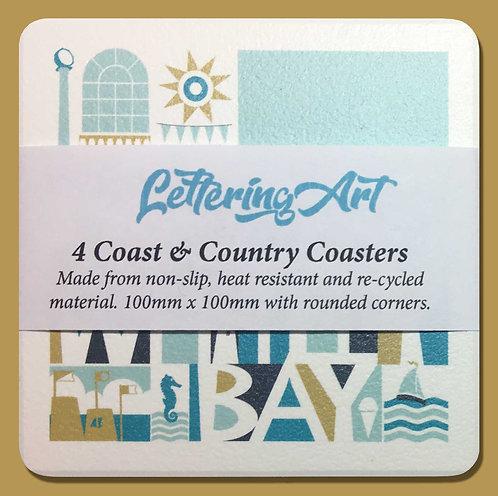 Coaster x4 / Whitley Bay
