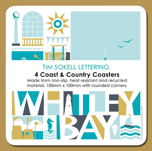 Coaster x4 / Whitley Bay