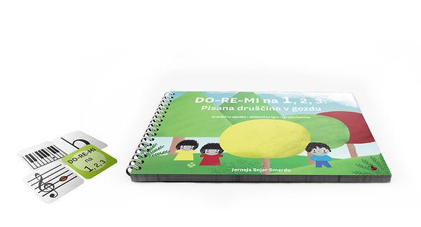 pravljično-didaktična knjiga, didaktične igre, glasba in gozd, DO-RE-MI na 1, 2, 3, Pisana druščina v gozdu, DO-RE-MI življenJA, Jerneja Sojer Smerdu