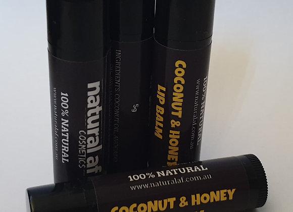 Coconut & Honey Lip Balm
