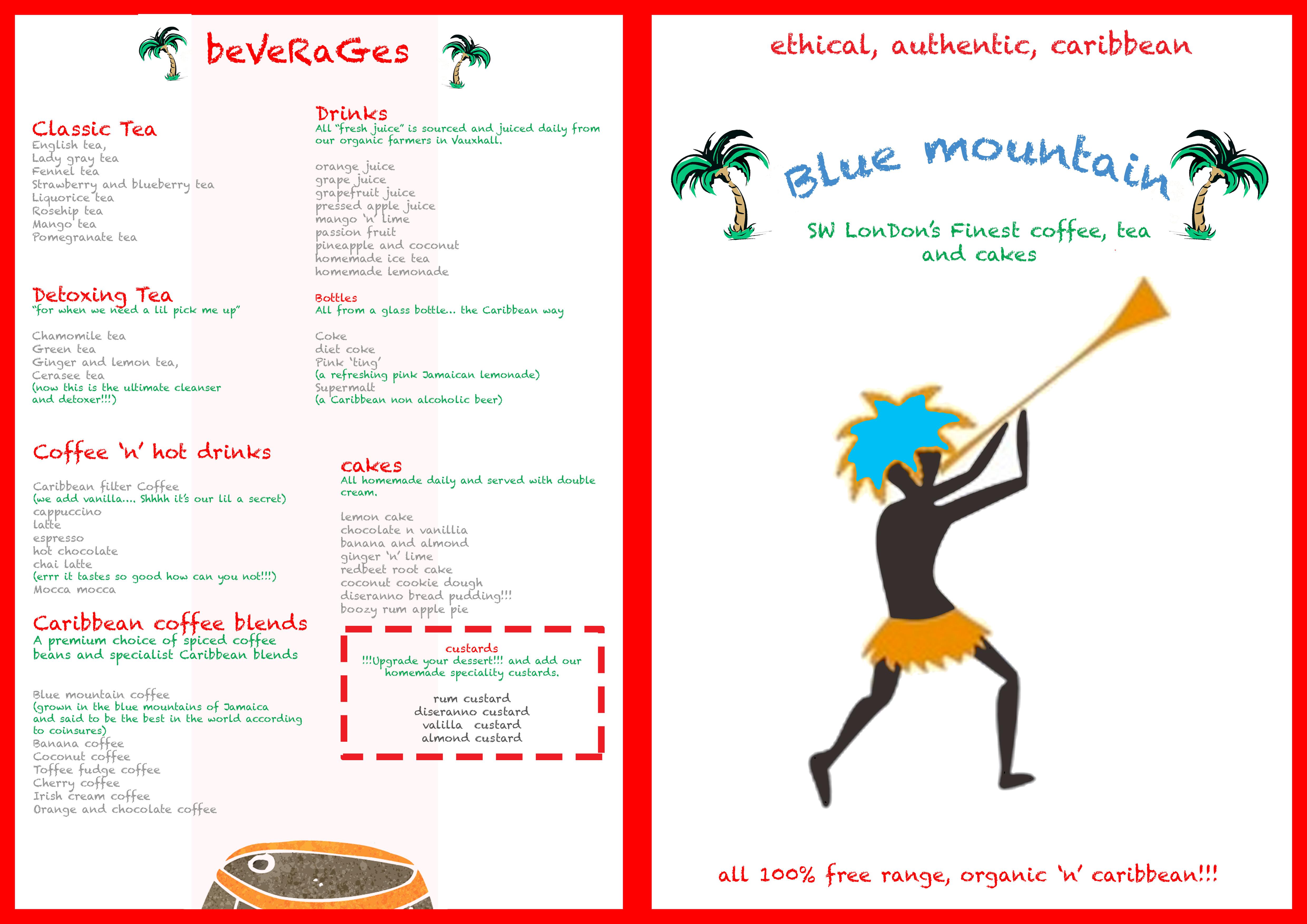 Tea menu 2