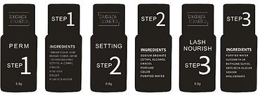 Lashlifting Esmeralda Cosmetics Produkte