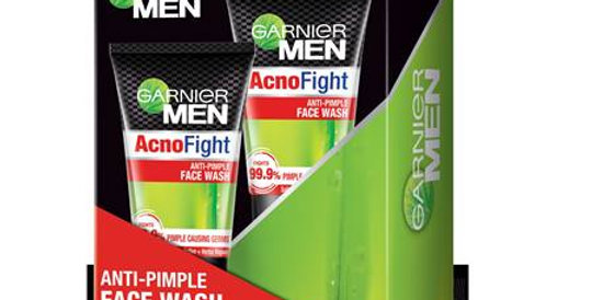 Garnier Men Anti-Pimple Face Wash Pack of 2 (100g + 100g)