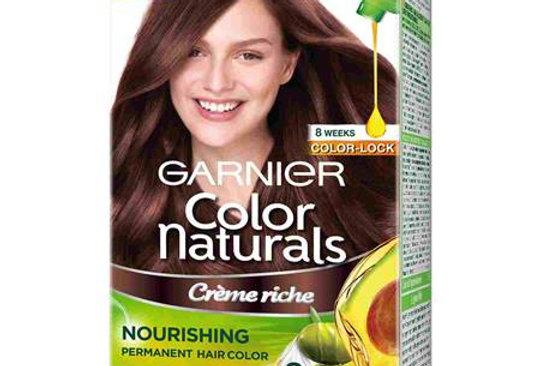 Garnier Color Naturals 70ml + 60g Shade 5 Light Brown