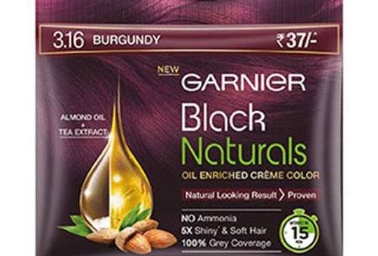 Garnier Black Naturals 20ml + 20mg Shade 3.16 Burgundy
