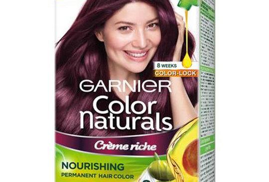 Garnier Color Naturals 70ml + 60g Shade 4.2 Wine Burgundy