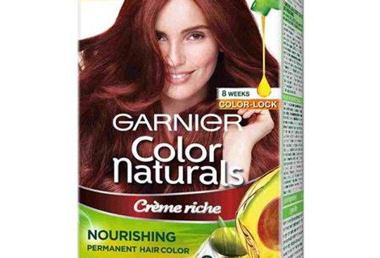 Garnier Color Naturals 70ml + 60g Shade 6.60 Intense Red