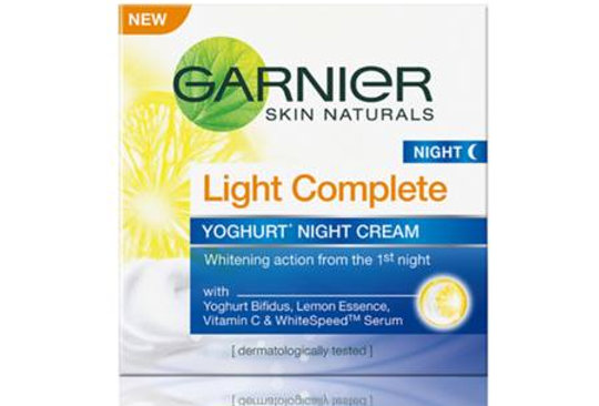 Garnier Light Complete Night Cream