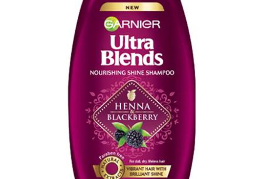 Garnier Ultra Blends Henna and Blackberry Shampoo