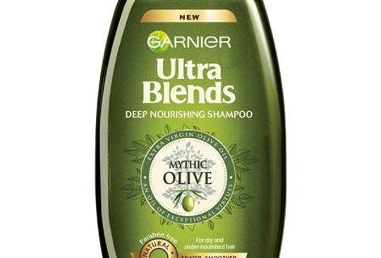Garnier Ultra Blends Mythic Olive Shampoo