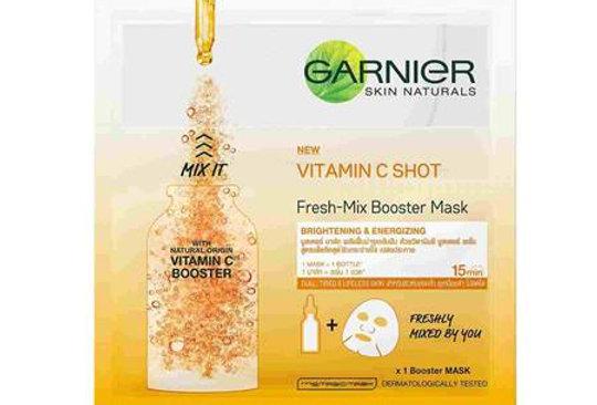 Garnier Fresh Mix Vitamin C Serum Sheet Mask 33g
