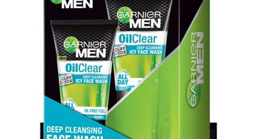 Garnier Men Oil Clear Clay D - Tox Pack of 2 (100g + 100g)