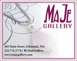 MaJe Gallery web ad