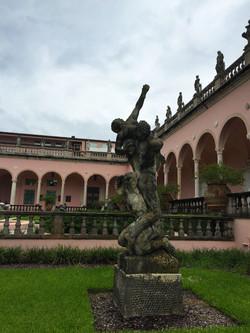 Florida State Art Museum Courtyard