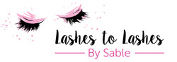 Lashes to Lashes Entrance Sign