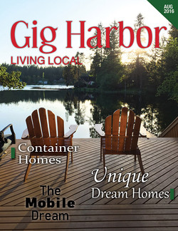 Gig Harbor Living Local Cover Mock