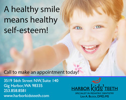 Harbor Kids' Teeth web ad