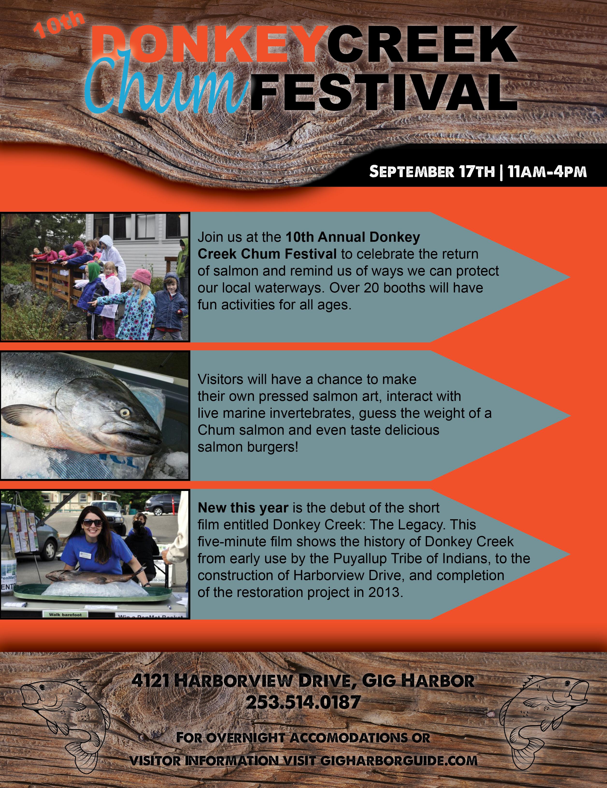 Donkey Creek Chum Festival