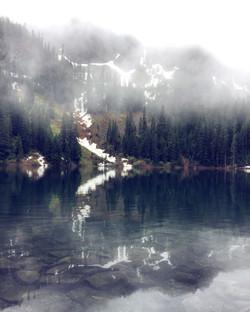 Lake Annette in June