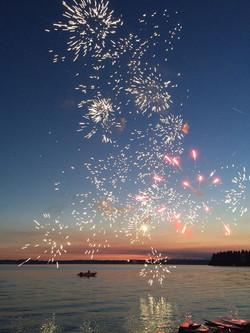 Fox Island Fireworks 2