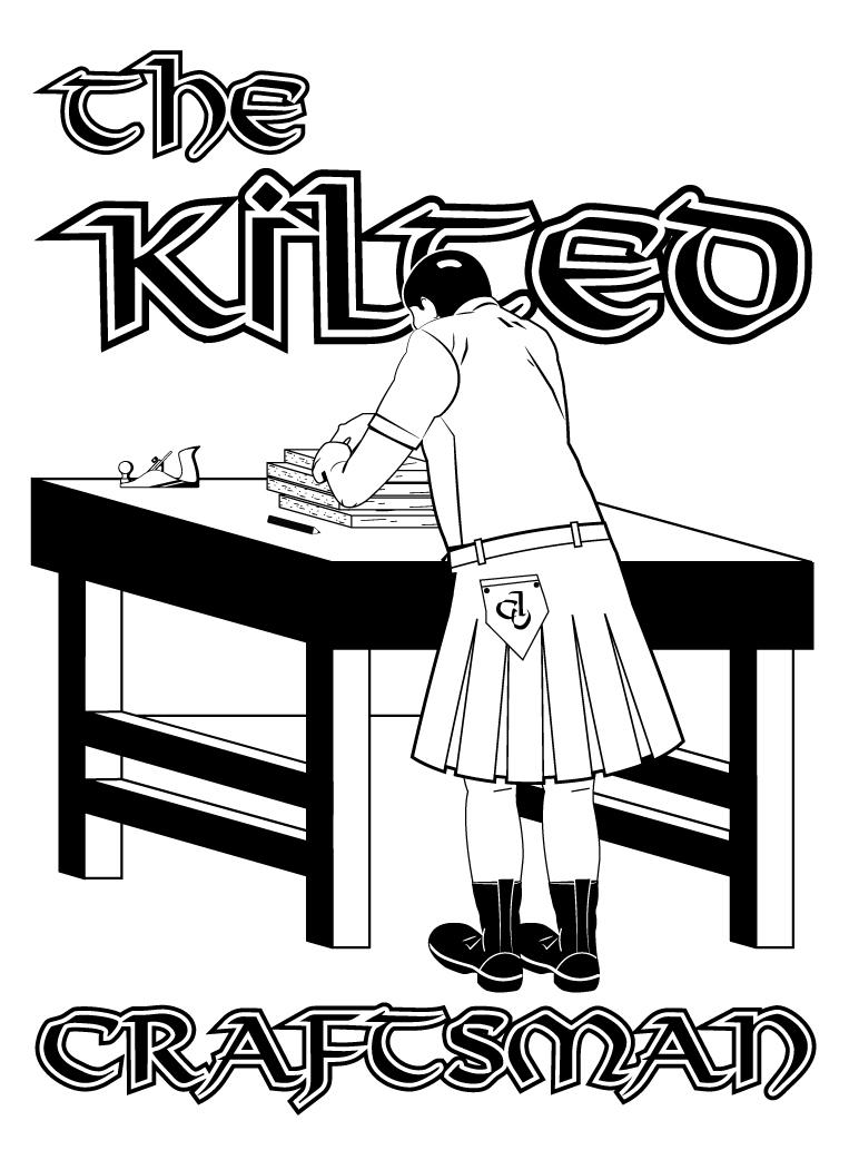 Kilted Craftsman Logo