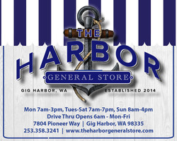 Harbor General Store web ad