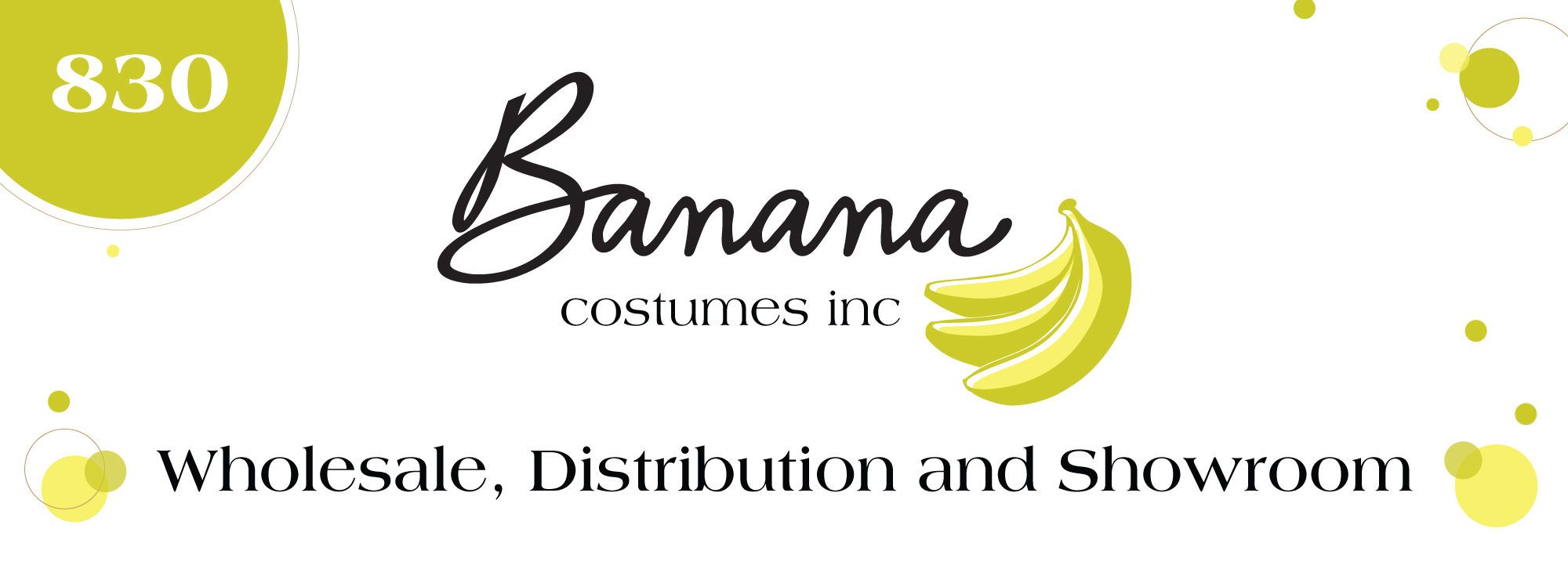 Banana Costumes Main Store Display