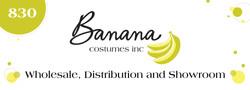 Banana Costumes Main Store Display