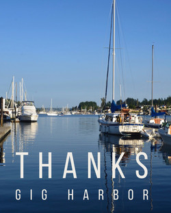 Thank You Gig Harbor